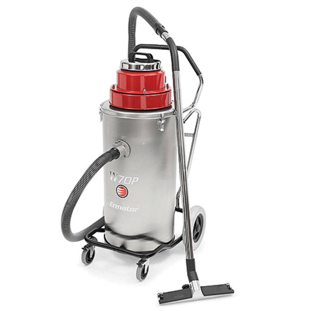 Ermator W70P Slurry Wet Vacuum w/Pump 15 Gallons