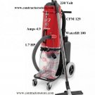 230V Ermator S13 HEPA Dust Extractor Vacuum 4.9 Amp