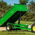 Dump Trailer Heavy Duty GVW 12,000 lbs