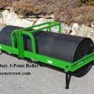 Turf Roller Commercial 3-Point Skid Steer Mount