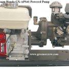 Master Manufacturing 3 Diaphragm Gas Powered Pump Honda GX 6.5 HP Engine