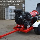 Buffalo Turbine KB5EFI Cyclone Blower Debris / Leaf Tow Behind