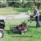 Off Road Trailer Greens, Greens Mower, Utility Trailer
