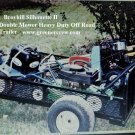 Off Road Double Mower Trailer Greens, Utility Trailer