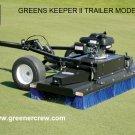 Tow-Behind Greens Brush, Fairways, Tee Box Brush
