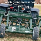 "69"" Golf Course Coring Turf Aerator Trailer"