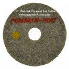 "20"" Diamond Set 1500 & 3000 Grit Dry Polishing Pad Concrete, Terrazzo Floors"