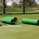 Golf Course Fairway Roller Triple Gang