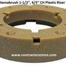 "Diamabrush 1-1/2"", 4/5"" CH Plastic Riser for NP-9200 Clutch Plate"