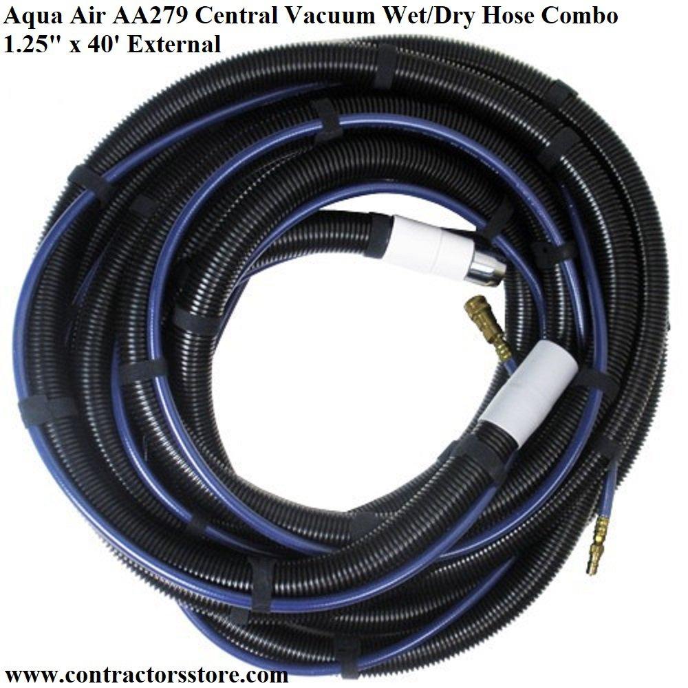 Aqua Air Aa279 Central Vacuum Wet Dry Hose Combo 1 25 Quot X