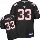 Michael Turner #33 Black/Red Jersey #AF002