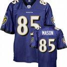 Derrick Mason #85 Purple Jersey #BR002