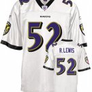Ray Lewis #52 White Jersey #BR009