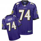 Michael Oher #74 Purple Jersey #BR022