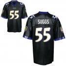Terrell Suggs #55 Black Jersey #BR027