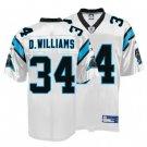 DeAngelo Williams #34 White Jersey #CP011