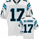 Jake Delhomme #17 White Jersey #CP024