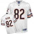 Greg Olsen #82 White Jersey #CB013