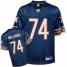 Chris Williams #74 Blue Jersey #CB031