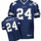 Marion Barber #24 Blue Jersey w/50th Patch #DC002