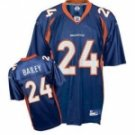 Champ Bailey #24 Blue Jersey #DB001