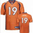 Eddie Royal #19 Orange Jersey #DB021