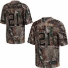 Charles Woodson #21 Camo Jersey #GB009