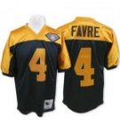 Bret Favre #4 Throwback Jersey w/75th Patch #GB010