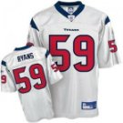DeMeco Ryans #59 White Jersey #HT006