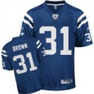 Donald Brown #31 Blue Jersey #IC012