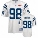 Robert Mathis #98 White Jersey w/Super Bowl Patch #IC019