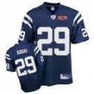 Joseph Addai #29 Blue Jersey w/Super Bowl Patch #IC054