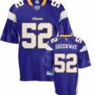 Chad Greenway #52 Purple Jersey #MV025