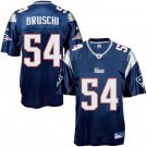 Tedy Bruschi #54 BLue Jersey #PAT012