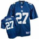 Brandon Jacobs #27 Blue Jersey #NYG007