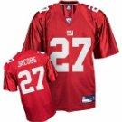 Brandon Jacobs #27 Red Jersey #NYG008