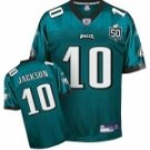 DeSean Jackson #10 Green Jersey w/50th Patch #PE034