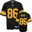 Hines Ward #86 Black w/Yellow Numbers #PS004