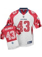 Troy Polamalu 2009 Pro Bowl Jersey #PS027