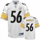 LaMarr Woodley #56 White Jersey #PS031