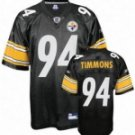 Lawrence Timmons #94 Black Jersey #PS035