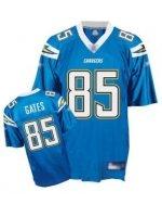 Antonio Gates #85 Lt. Blue Jersey #SD001