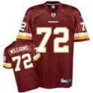 Trent Williams #72 Red Jersey #WR011