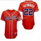 Jason Heyward #22 Red Jersey #AB009