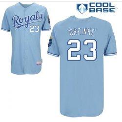 Zack Greinke #23 Light Blue Jersey #KC005