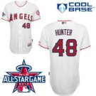 Torii Hunter #48 White All-Star Jersey #LAA002