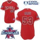 Bobby Abreu #53 Red All-Star Jersey #LAA005