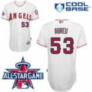Bobby Abreu #53 White All-Star Jersey #LAA006