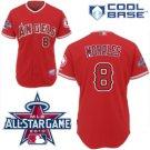 Kendrys Morales #8 Red All-Star Jersey #LAA009