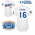 Andre Ethier #16 White Jersey #LAD005